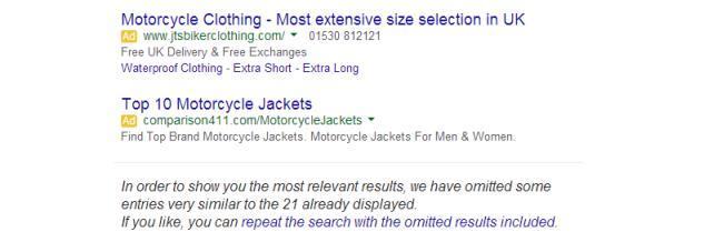 Google exact match