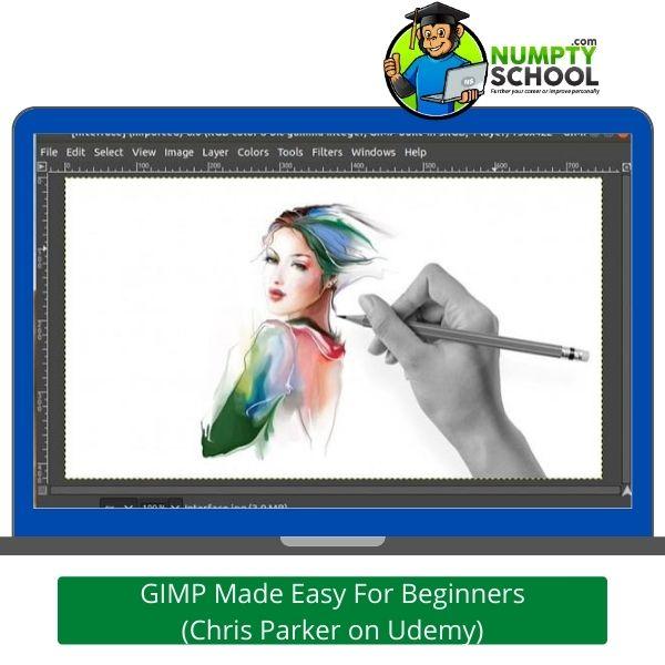 GIMP Made Easy For Beginners - Chris Parker on Udemy