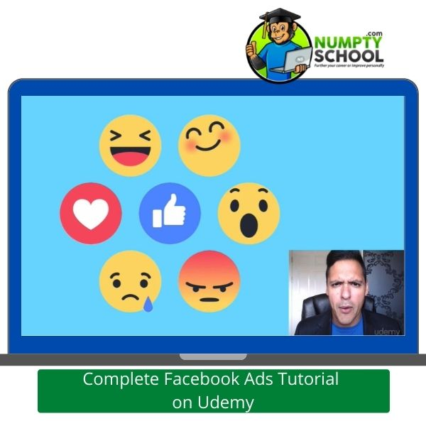 Complete Facebook Ads Tutorial on Udemy - Reactions
