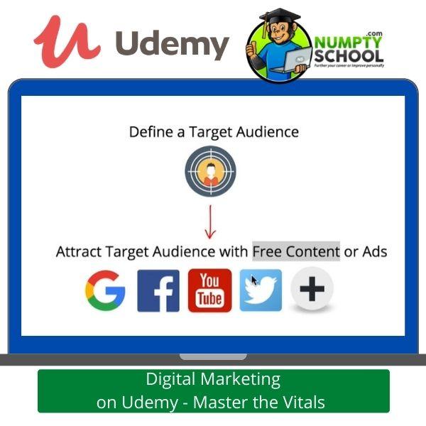 Complete Digital Marketing on Udemy - Master the Vitals