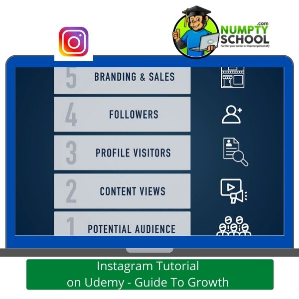 Instagram Tutorial on Udemy - Guide To Growth