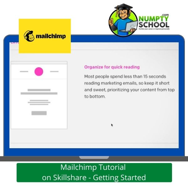 Mailchimp Tutorial on Skillshare - Getting Started