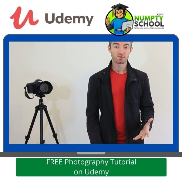 FREE Photography Tutorial on Udemy