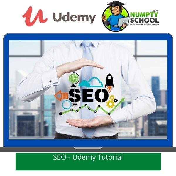 Online SEO Tutorial - Udemy